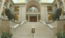 Interior of Manitoba legislature