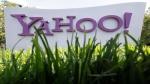 A Yahoo sign stands outside the company's offices in Santa Clara, Calif. May 20, 2012. (AP / Paul Sakuma)