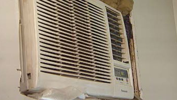 Fire officials are warning people not to overload their circuits when plugging in portable air conditioning units.