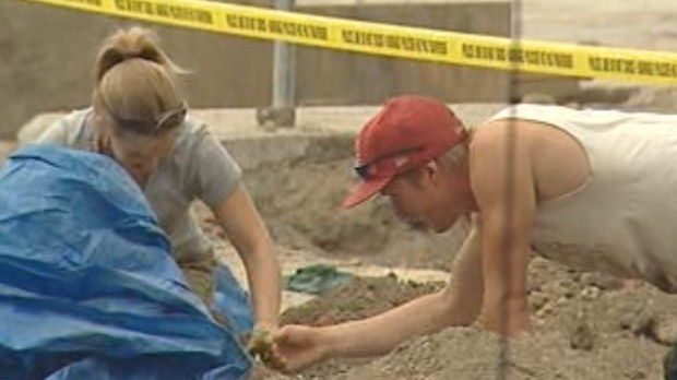 St. Boniface excavation