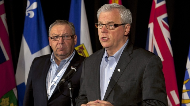 Manitoba Premier Greg Selinger reports on the impact of proposed changes to federal transfers.