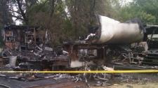 Killarney campground fire