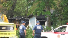 Two dead in Winnipeg Beach house fire