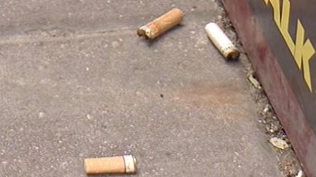 Cigarette butts can be seen strewn throughout Winnipeg near receptacles, in flower beds and all over city streets.