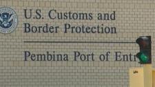 Manitoba U.S. border