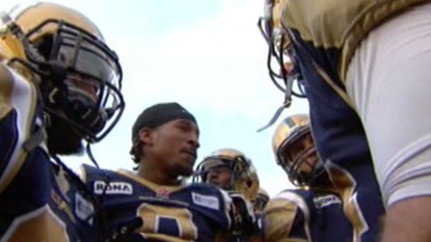 The Winnipeg Blue Bombers lost to the B.C. Lions 20-17 Friday night.