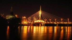 The Provencher Bridge. Photo by Joseph Poirier.