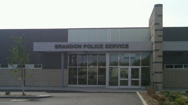 Brandon police office