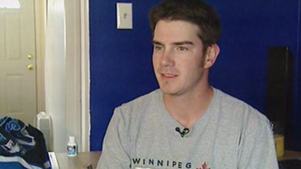 Jordan Kusmack, a season-ticket holder for Winnipeg Jets, is disappointed by the NHL lockout announcement.