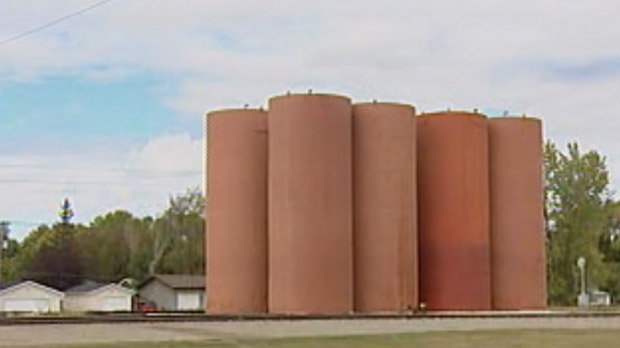 River Heights silos