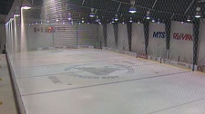 Winnipeg police, firefighters and a few Winnipeg Jets will hit the ice together at the MTS Iceplex