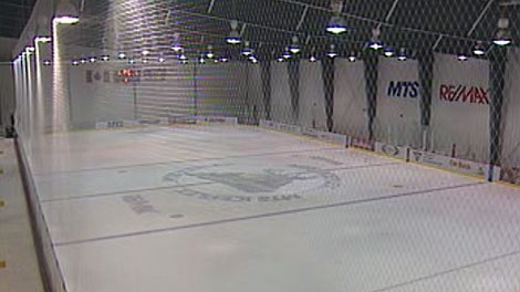 Winnipeg police, firefighters and a few Winnipeg Jets will hit the ice together at the MTS Iceplex Saturday. (file image)