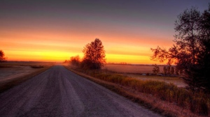 The country sunrise near Gilbert Plains in Manitoba. Photo by George Kent.