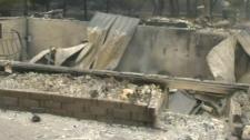 Vita home burned in blaze