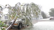 Manitoba snowstorm