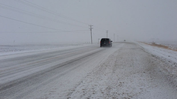 Southwestern MB getting up to 30 cm of snow by Monday
