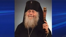 Archbishop Seraphim Storheim stepped down while a police investigatin is underway.