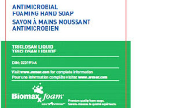 Recall of Antimicrobial Foaming Hand Soap